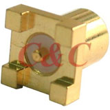 MCX Straight Surface Mount Jack Receptacle