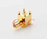 SMB Right Angle PCB Mount Jack Receptacle