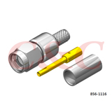 Reverse Polarity SMA Straight Plug Crimp for LMR200