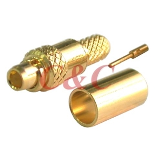 MMCX Straight Plug Crimp for RD316u