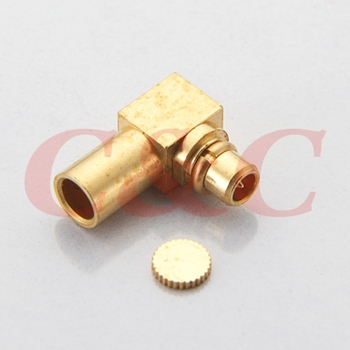 MMCX Right Angle Plug for RG405u